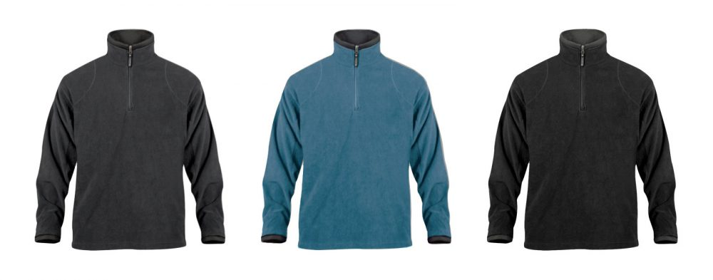 Micro Light Quarter Zip Fleece
