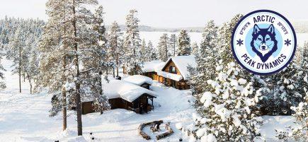 Adventure banner Arctic lodge